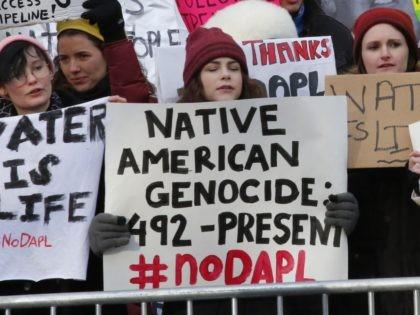 Thanksgiving protest (Kena Betancur / AFP / Getty)