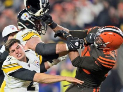 Myles Garrett Accuses Mason Rudolph of Using Racial Slur Prior to Helmet Attack
