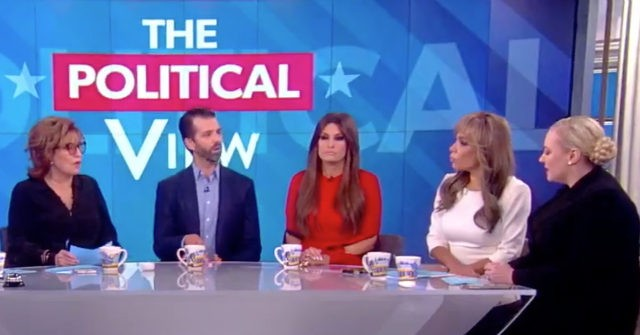 Donald Trump Jr.: 'View' Hosts in 'Attack Mode,' Didn't Discuss My Book