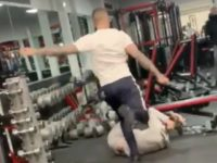 WATCH: Brits Bash Each Other with Exercise Equipment in Wild Gym Fight