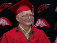 95-Year-Old WWII Veteran Gets High School Diploma
