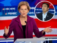Elizabeth Warren Tops Democrat Field in Speaking Time, Andrew Yang Dead Last