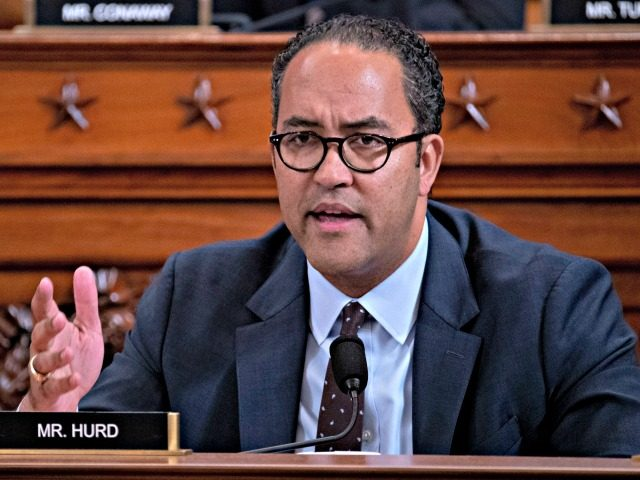 WASHINGTON, DC - NOVEMBER 21: Representative Will Hurd, a Republican from Texas, questions witnesses during a House Intelligence Committee impeachment inquiry hearing on Capitol Hill November 21, 2019 in Washington, DC. The committee heard testimony during the fifth day of open hearings in the impeachment inquiry against U.S. President Donald …