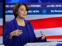 Amy Klobuchar Appears to Shiver During Democrat Debate
