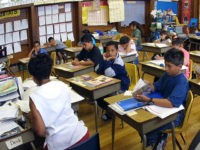 391429 02: Students in Ms. Newman''s third grade class attend summer school June 3, 2001 at Brentano Academy in Chicago. More than half of Chicago''s 430,000 public school students must attend summer school this year before they can go on to the next grade, Chicago Public School officials say. Former …