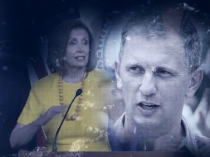 Nancy Pelosi and Sean Casten in impeachment ad