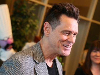 "LOS ANGELES, CALIFORNIA - MAY 01: Jim Carrey attends For Your Consideration Screening Of Showtime's ""Kidding"" at Linwood Dunn Theater on May 01, 2019 in Los Angeles, California. (Photo by Leon Bennett/Getty Images)"