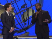 Kanye Announces Christian Music Revolution at Joel Osteen's Church