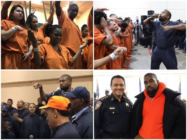 Watch — Kanye West Brings Sunday Service to Houston Jail: 'This Is a Mission, Not a Show'