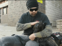 PITTSBURGH (KDKA) – An ex-Marine who was wounded in Iraq and suffers post-traumatic stress disorder was thrown out of a bar in Beechview Thursday night because he brought his service dog.