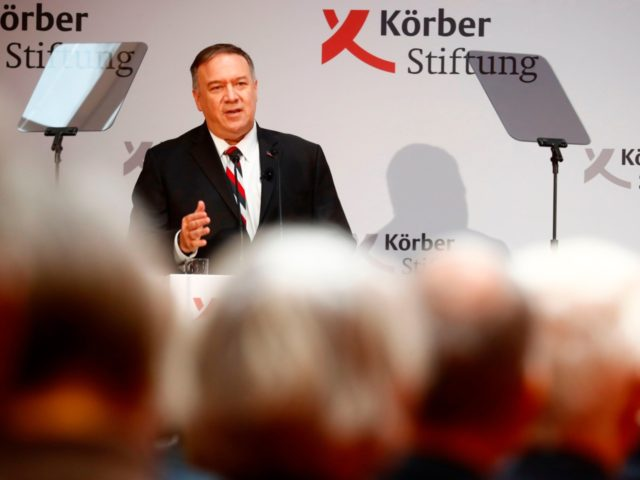 In Berlin, Pompeo says allied democracies must work together