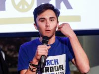 NEW YORK, NY - JANUARY 21: David Hogg at the 9th Annual Peace Week Town Hall at Betaworks Studios on January 21, 2019 in New York City. Credit: Diego Corredor/MediaPunch /IPX