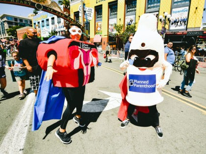 SAN DIEGO, CALIFORNIA - JULY 18: Cosplayers attend the 2019 Comic-Con International on July 18, 2019 in San Diego, California. (Photo by Matt Winkelmeyer/Getty Images)