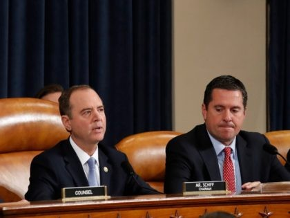 Nunes Blasts Schiff for Fake Trump Conversation During Impeachment Hearing