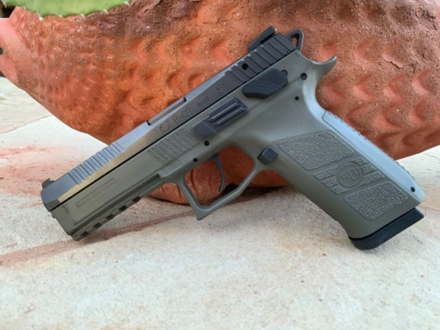 The CZ P-09 Duty Model pistol is a standard-sized handgun that combines proven durability with remarkable accuracy and flawless function.