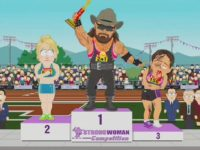 South Park Mocks Trans Athletes in 'Strong Woman' Competitions