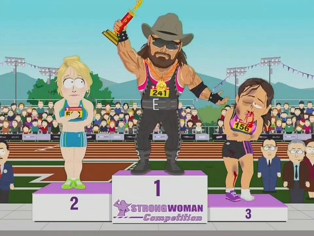 'South Park' Scorches Trans Athletes Smashing 'Strong Woman' Competitions