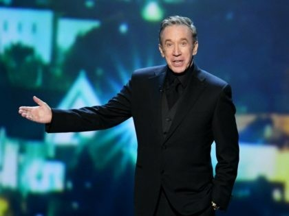 LOS ANGELES, CALIFORNIA - SEPTEMBER 22: Tim Allen speaks onstage during the 71st Emmy Awards at Microsoft Theater on September 22, 2019 in Los Angeles, California. (Photo by Kevin Winter/Getty Images)
