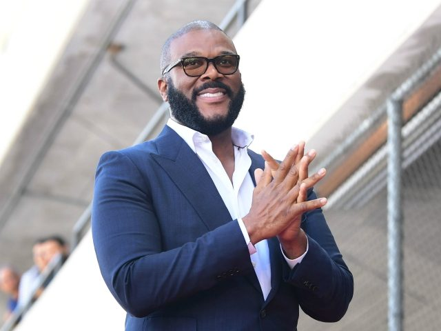 Actor and director Tyler Perry attends his Hollywod Walk of Fame Star ceremony on October 1, 2019 in Hollywood, California. (Photo by Frederic J. BROWN / AFP) (Photo by FREDERIC J. BROWN/AFP via Getty Images)