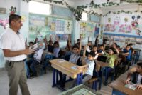 The UN agency UNRWA provides vital schooling and health services to some five million Palestinian refugees in Jordan, Lebanon, Syria, the Gaza Strip and the Israeli-occupied West Bank