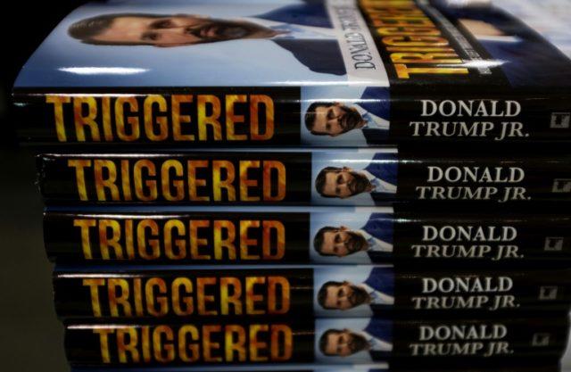 Trump Jr releases provocative book defending father