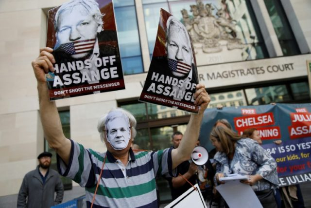 Assange 'may die in jail', father warns