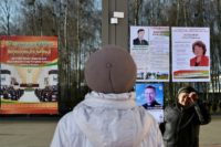 Belarus polls under scrutiny as strongman reaches out to West