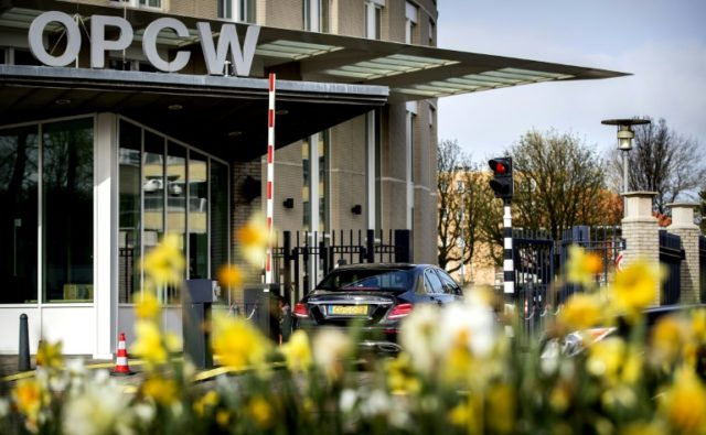 Tensions are rising at the Organisation for the Prohibition of Chemical Weapons (OPCW) in The Hague ahead of a new report expected to name culprits for attacks in Syria for the first time