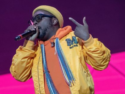 Will.i.am of The Black Eyed Peas performs during KAABOO Texas at the AT&T Stadium on May 11, 2019 in Arlington, Texas. (Photo by SUZANNE CORDEIRO / AFP) (Photo credit should read SUZANNE CORDEIRO/AFP via Getty Images)