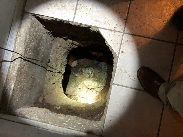 ICE agents find drug smuggling tunnel crossing Mexican border. (Photo: ICE/HSI)