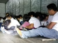 Laredo Sector Border Patrol agents rescue a group of 70 migrants locked in a cargo trailer by cartel-connected human smugglers. (Photo: U.S. Border Patrol/Laredo Sector)
