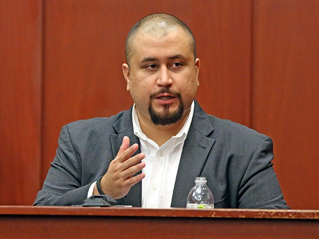 George Zimmerman looks at the jury as he testifies in a Seminole County courtroom Tuesday, Sept. 13, 2016 in Orlando, Fla. Matthew Apperson is accused of trying to kill Zimmerman by shooting into his truck during a dispute last year. (Red Huber/Orlando Sentinel via AP, Pool)