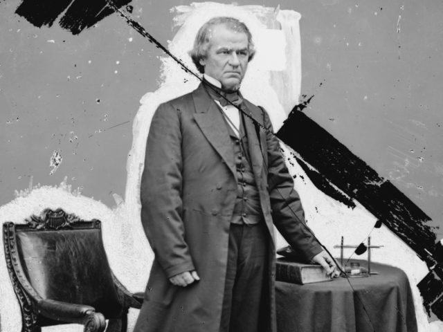 Andrew Johnson (Brady-Handy photograph collection / Library of Congress via Associated Press)