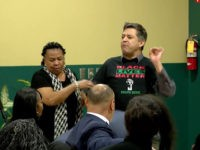 Watch: Leftist White Man Steals Mic from Black Councilwoman Supporting Pete Buttigieg