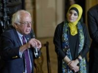 Bernie Sanders and Linda Sarsour (Mary Altaffer / Associated Press)
