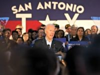 SAN ANTONIO, TX - DECEMBER 13: Democratic presidential candidate and former U.S. Vice President Joe Biden speaks at a community event while campaigning on December 13, 2019 in San Antonio, Texas. Texas will hold its Democratic primary on March 3, 2020, also known as Super Tuesday. (Photo by Daniel Carde/Getty …