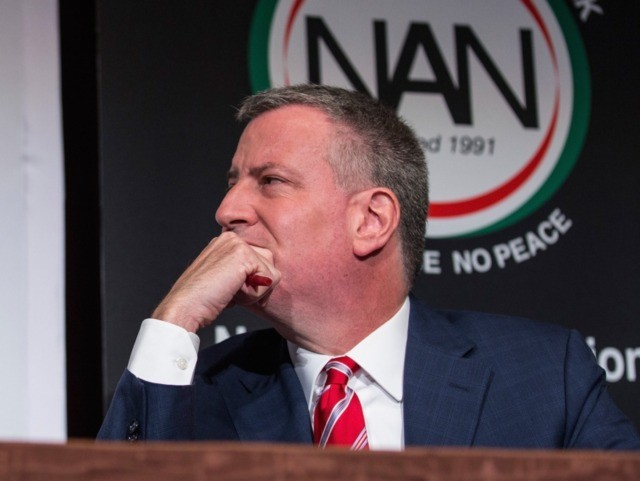 Bill de Blasio (Andrew Burton / Getty)
