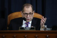WASHINGTON, DC – DECEMBER 4: House Judiciary Committee Chairman Jerrold Nadler (D-NY) speaks during testimony by constitutional scholars before the House Judiciary Committee in the Longworth House Office Building on Capitol Hill December 4, 2019 in Washington, DC. This is the first hearing held by the Judiciary Committee in the …