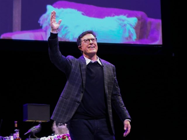 NEWARK, NEW JERSEY - DECEMBER 07: Stephen Colbert attends the Montclair Film Presents: An Evening With Stephen Montclair Film Presents: An Evening With Stephen Colbert + Julia Louis-Dreyfus at NJPAC on December 07, 2019 in Newark, New Jersey. (Photo by Bennett Raglin/Getty Images for Montclair Film )