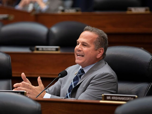 WASHINGTON, DC - JULY 12: Rep. David Cicilline (D-RI) asks Deputy Assistant FBI Director Peter Strzok a question on July 12, 2018 in Washington, DC. Strzok testified before a joint committee hearing of the House Judiciary and Oversight and Government Reform committees. While involved in the probe into Hillary Clinton's …