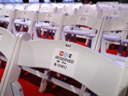 Debate chairs (Chip Somodevilla / Getty)