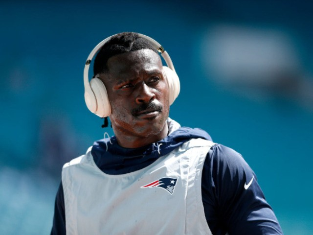Antonio Brown In New Orleans Working With Saints