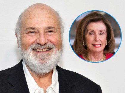 """(INSET: Nancy Pelosi) NEW YORK, NEW YORK - APRIL 27: Rob Reiner attends the """"This Is Spinal Tap"""" 35th Anniversary during the 2019 Tribeca Film Festival at the Beacon Theatre on April 27, 2019 in New York City. (Photo by Dia Dipasupil/Getty Images for Tribeca Film Festival)"""