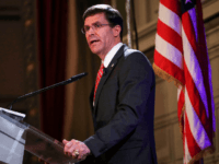 Defense Secretary Mark Esper: 'We've Been Very Aggressive with Regard to Russia'