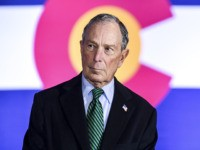 AURORA, CO - DECEMBER 05: Democratic presidential candidate, former New York City Mayor Michael Bloomberg waits to speak at an event to introduce his gun safety policy agenda at the Heritage Christian Center on December 5, 2019 in Aurora, Colorado. The event, which was closed to the public, was held …