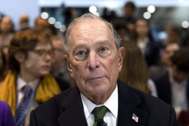 MADRID, SPAIN - DECEMBER 10: Democratic presidential candidate for US and former New York City Mayor Michael Bloomberg attends an event at the COP25 Climate Conference on December 10, 2019 in Madrid, Spain. The COP25 conference brings together world leaders, climate activists, NGOs, indigenous people and others for two weeks …