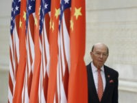 BEIJING, CHINA - NOVEMBER 9: Commerce Secretary Wilbur Ross arrives at a state dinner at the Great Hall of the People on November 9, 2017 in Beijing, China. Trump is on a 10-day trip to Asia. (Photo by Thomas Peter - Pool/Getty Images)