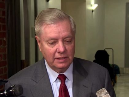 Lindsey Graham speaks to a press gaggle in the Capitol, 12/5/2019