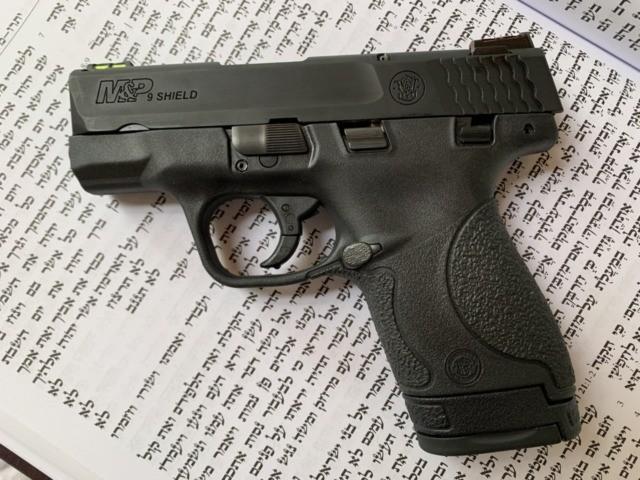 Gun and Torah (Joel Pollak / Breitbart News)
