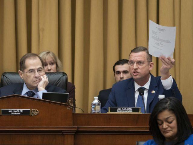 Jerry Nadler and Doug Collins (J. Scott Applewhite / Associated Press)